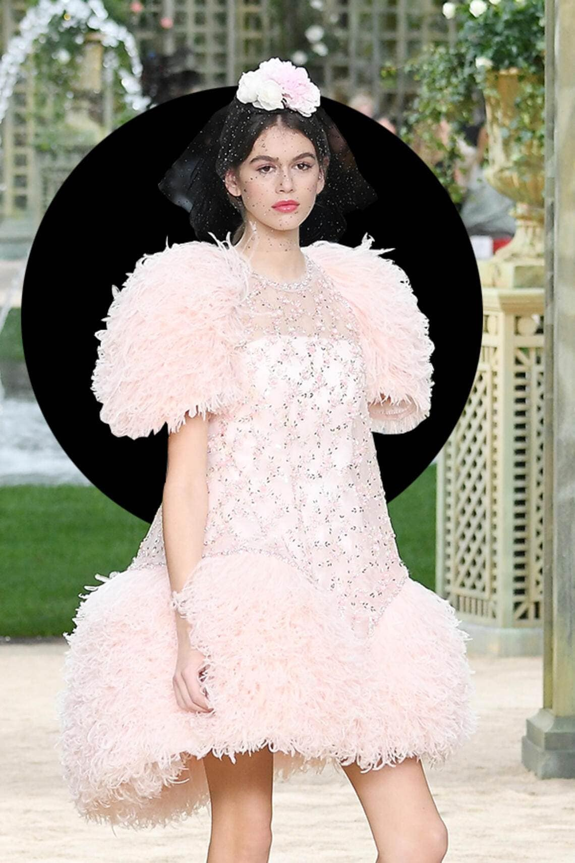 Kaia Gerber in Chanel
