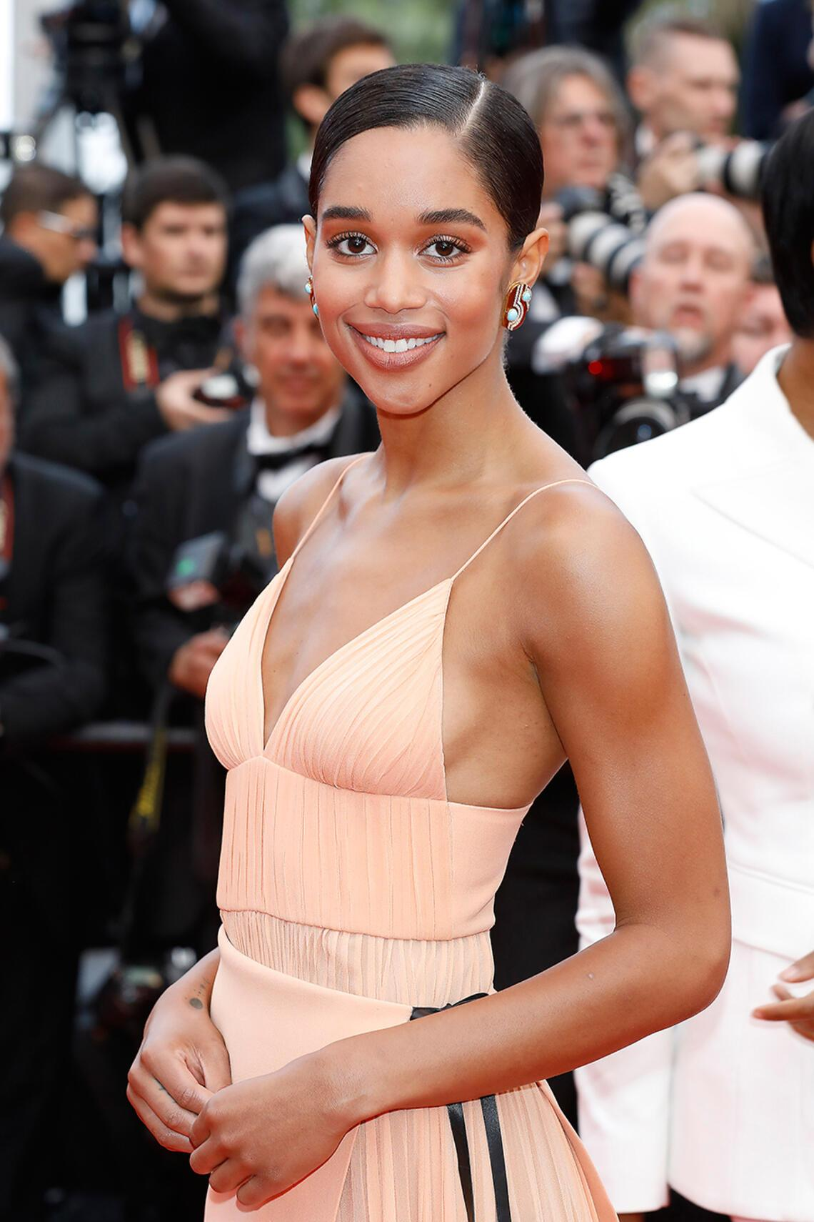 Laura Harrier in Cannes