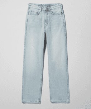 Extra High Straight Jeans
