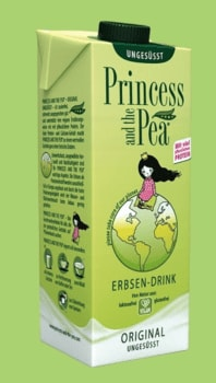 princess and the pea erbsen milch